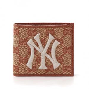 Gucci NY Yankees Original GG Canvas Wallet