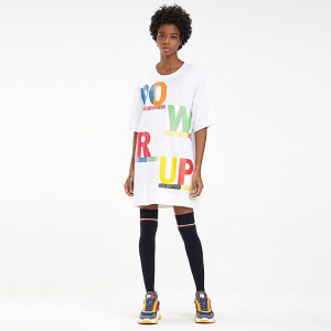 HILFIGER COLLECTION POWER UP T-SHIRT DRESS