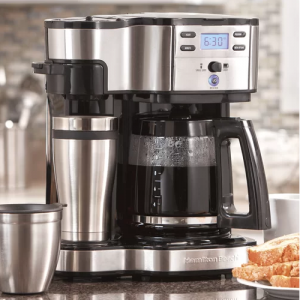 49980Z The Scoop Two Way 12-Cup Brewer Coffee Maker