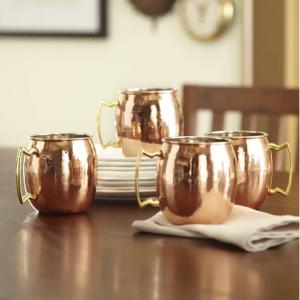 Russet Moscow Mule 16 oz. Copper Mug