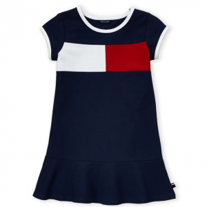 TOMMY HILFIGER  (Girls 4-6x) Flag Dress