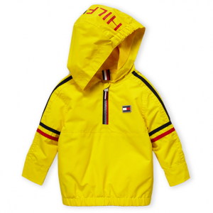 TOMMY HILFIGER  (Infant Boys) Empire Yellow Doug Popover Jacket
