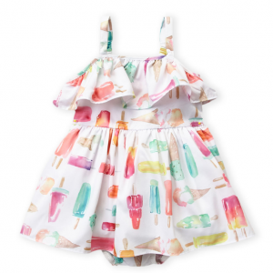 KATE SPADE  (Infant Girls) Ice Pops Dress