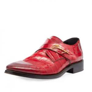 Balenciaga Runway Monk-Strap Shoe