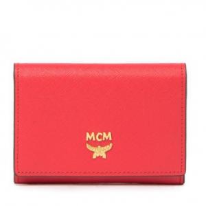 MCM Bi-Fold Snap Button Wallet