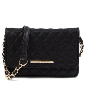 Steve Madden Terry Quilted Crossbody Wallet
