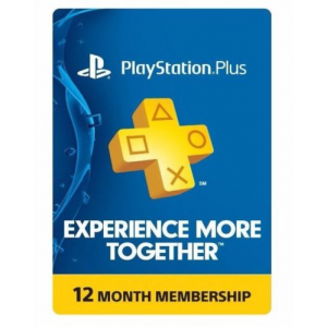 PS Plus 會員 一年份 實體卡 @ eBay
