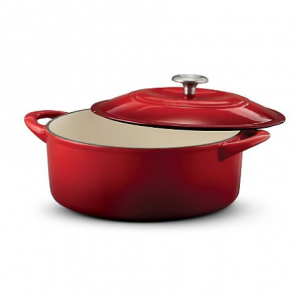 Tramontina Enameled Cast Iron 6-Qt. Covered Round Dutch Oven, 5 colors @ Sam's Club