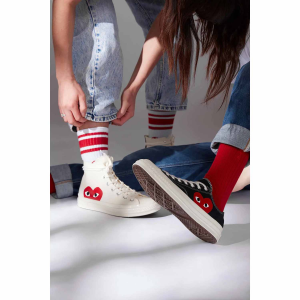 Comme Des Garçons Play x Converse Shoes @Barneys New York