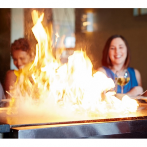 Hibachi Dinner for Two or Four at A-Aki From $31.50 @Groupon
