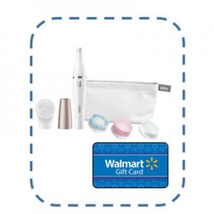 50 Walmart Gift Card Braun Face 851 Women S Miniature