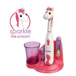 Brusheez 超可愛動物造型兒童電動牙刷套裝 @ Amazon