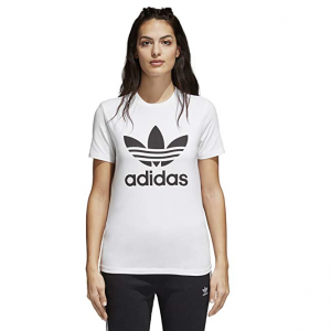 adidas Originals Women's Trefoil Tee @ Amazon