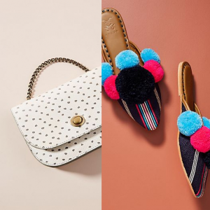 Anthropologie Easter Sale on Shoes, Bags, & Accessories