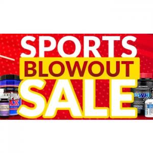20% off sports blowout sale @ iHerb