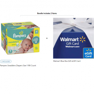 Pampers Disposable Diapers Sale @ Walmart