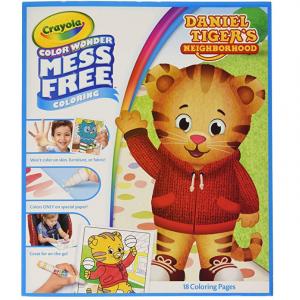Crayola 寶寶彩色塗色畫冊促銷 包含18頁 @ Amazon