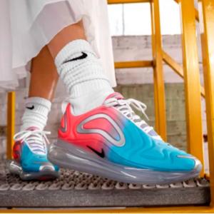 Nike官网 Air Max 720 彩色大底运动鞋上新热卖 妹子可入大童款