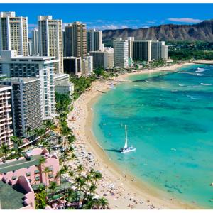 Honolulu, HI, 3 Nights Hotel + Round-trip Flights @Priceline
