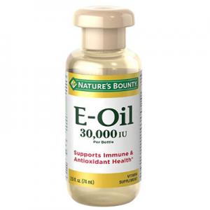 白菜價:Nature's Bounty 維生素E油 30,000IU 2.5oz $3.87 包郵
