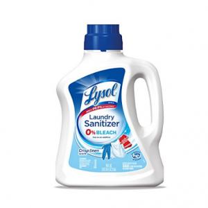 Lysol Laundry Sanitizer Additive, Crisp Linen, 90oz @ Amazon