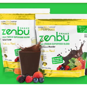 iHerb 官网 CGN超级食物Zenbu 营养代餐奶昔大促