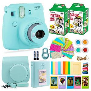 Fujifilm Instax Mini 9 Instant Camera + Accessories Bundle @ Amazon