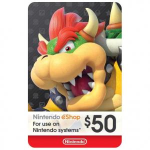 Nintendo $50 eShop Digital Code @ MassGenie