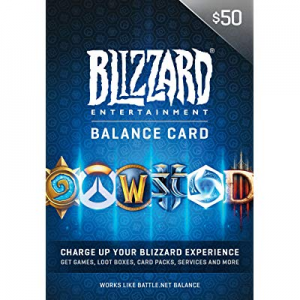 $50 Battle.net Store Gift Card Balance [Online Game Code] @ Amazon
