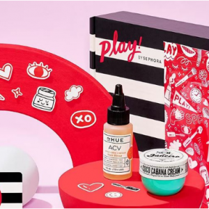 NEW! PLAY! Boxes With 6 Samples @ Sephora