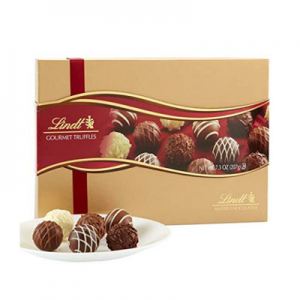 $9.98 Lindt LINDOR Assorted Chocolate Gourmet Truffles, Gift Box, Kosher, 7.3 Ounce @ Amazon