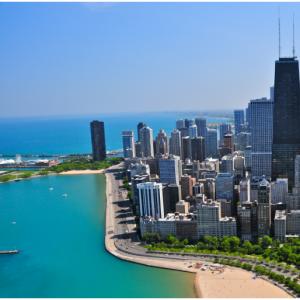 Chicago, IL - 3 nights hotel + Round-trip flight From $574 @Priceline