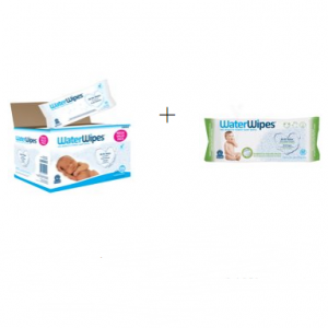 WaterWipes Sensitive, Unscented w/ Free Soapberry 60ct. @ Walmart