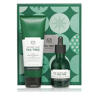 The Body Shop Tea Tree Rescue Kit Gift Set @ Amazon