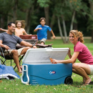 Coleman 100-Quart Xtreme 5-Day Heavy-Duty Cooler with Wheels @Walmart