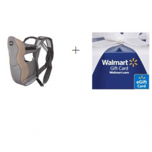 $5 Walmart eGift Card with Evenflo Carrier Purchase @ Walmart