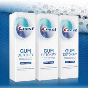 Crest Gum Detoxify Deep Clean Toothpaste, 4.1 oz, Triple pack @ Amazon.com
