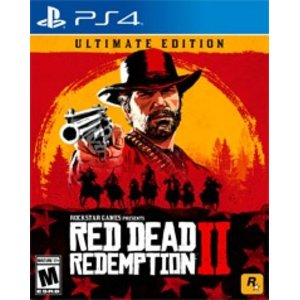 Red Dead Redemption 2 Ultimate Edition @ GameStop