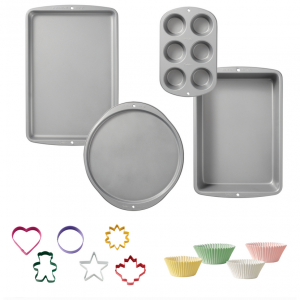 Wilton Value Non-Stick Bakeware Starter Set @ Walmart