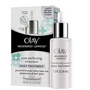 Olay Regenerist Luminous Tone Perfecting Treatment, 1.3 Fl Oz  @ Amazon