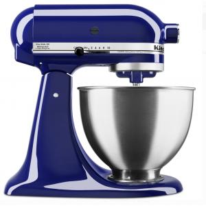 KitchenAid Deluxe 4.5 Quart Tilt-Head Cobalt Blue Stand Mixer @ Walmart