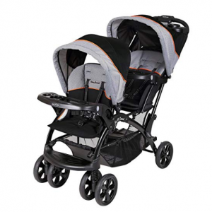 Baby Trend Double Sit N Stand Stroller, Millennium Orange @ Amazon