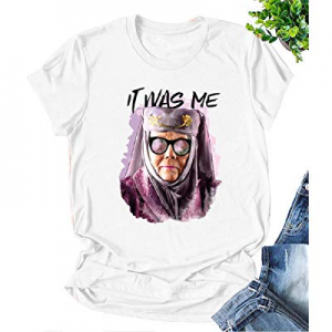 Tell Cersei It was Me Olenna Tyrell Shirt Game Thrones T Shirt Graphic Summer Tops Tees Gifts now 10