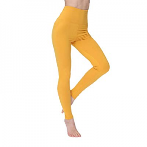 Womens High Waisted Leggings-Super Soft Slim Pants-One/Plus Size 20+ Design now 40.0% off