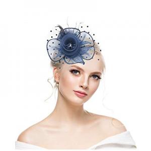 50.0% off KASTE Fascinators Hat for y Derby Wedding Women Tea Party Headband Kentuck Cocktail Flower