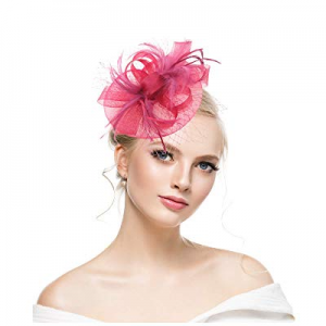 40.0% off KASTE Fascinators Hat for y Derby Wedding Women Tea Party Headband Kentuck Cocktail Flower