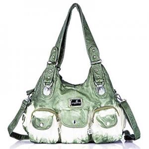 50.0% off Handbag Hobo Women Handbag Roomy Multiple Pockets Street ladies' Shoulder Bag Fashion PU T