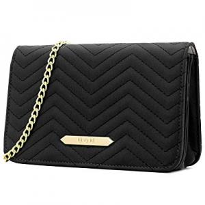 RFID Blocking Shoulder Bag for Women now 60.0% off , U+U Leather Purse with Cell Phone Pocket Medium