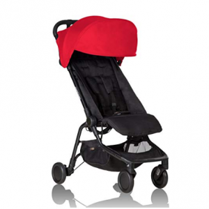 Mountain Buggy Nano Stroller, Ruby @ Amazon
