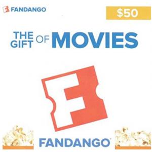 Amazon - Fandango礼卡大促,原价$50的卡现只需$40